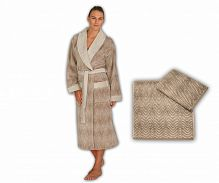 Полотенце ROSEBERRY Коричневый STELLA Brown Cream towel